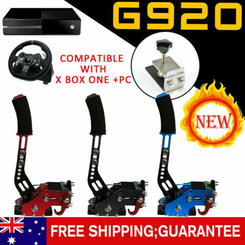 G920 Handbrake Compatible With XBOX ONE+PC For Simracing Game Sim Rig w/Clamp AU