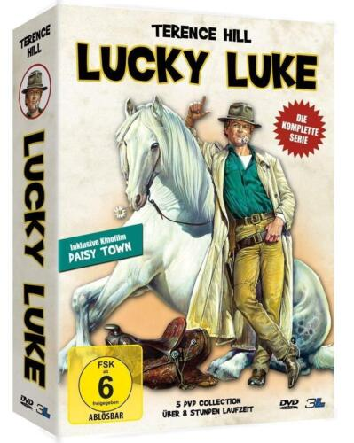 Terence Hill Lucky Luke Complete TV Series + Movie 5 DVD Box Collection New