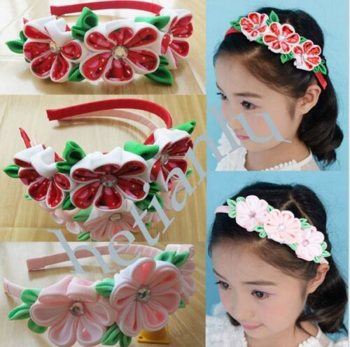 100 BLESSING Good Girl Boutique Headband 6 Inch Sika Bows 164 No.