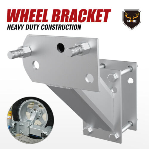 Spare Wheel Carrier Bracket Tyre Holder For Trailer Caravan Boat
