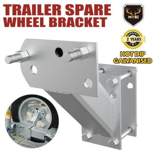 Spare Wheel Carrier Bracket Type Holder Trailer Part Caravan Boat NEW <br/> 20% off* with code PATRON20. Ends 29/10.T&Cs apply.