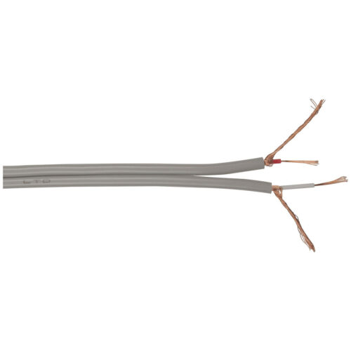 CABLE AUDIO FIG8 GRY SCRN 100M RLGTH