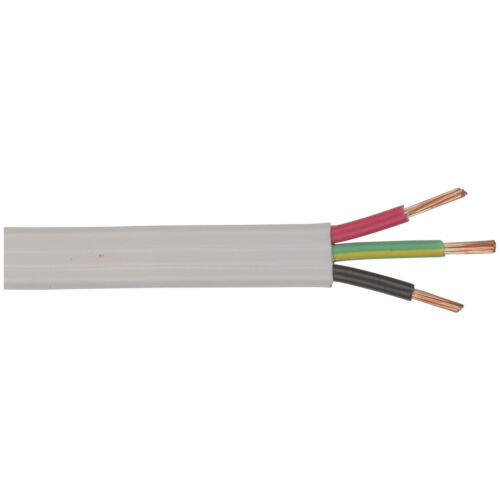 CABLE MAINS FLAT T&E 20A 100M RLGTH