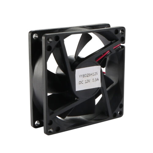 SNOWFAN Authorized 80mm x 80mm x 25mm 12V Brushless DC Cooling Fan Y-Y8025H12S