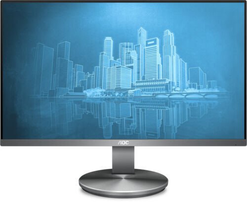 """AOC 238"""" 1920x1080 16:9 5ms FHD IPS Monitor 1000:1 Typical Contrast Ratio 250 cd"""