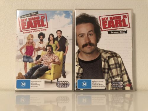 MY NAME IS EARL - COMPLETE SEASON 1 &2  (8 DISC SET) - REGION 4 Mint Condition