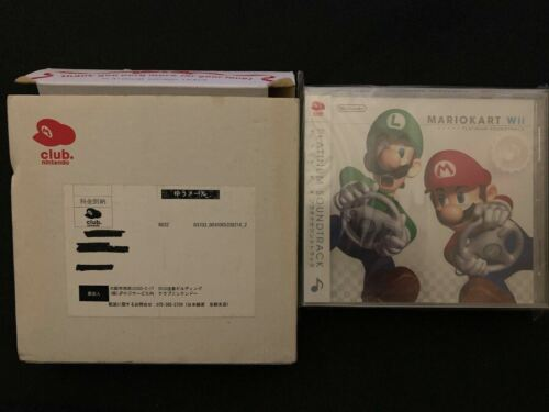 Mario Kart Wii & Star Fox 64 3D CD Platinum Soundtrack - BRAND NEW SEALED *RARE*