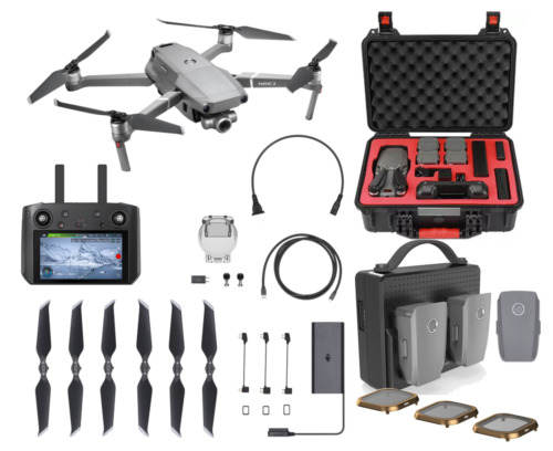 MAVIC 2 ZOOM WITH SMART CONTROLLER ULTIMATE BEGINNERS PACK