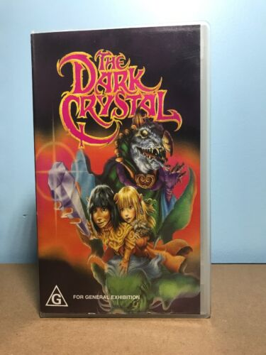 The Dark Crystal - VHS 1985 Video Tape PAL