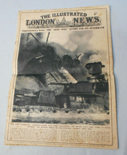 #T63.   THE ILLUSTRATED LONDON NEWS SUPPLEMENT - THE GRAF SPEE, 1939Other Eras, Wars - 135