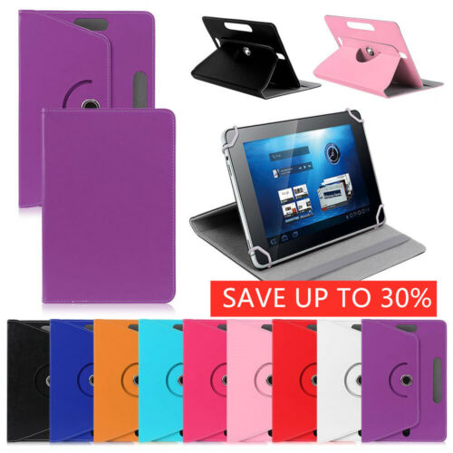 "AU Universal Leather Tablet Case Protector For 7"" 8"" 9"" 10.1"" Android Tablet PC"