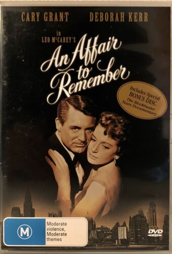 An Affair to Remember (1957) DVD - Cary Grant, Deborah Kerr Like New  Rare