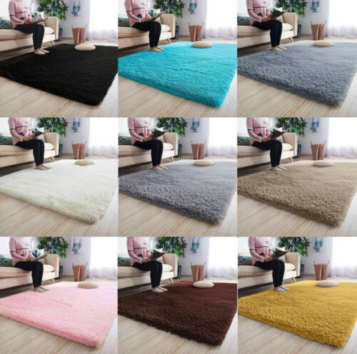 Fluffy Rugs Anti-Slip SHAGGY RUG Super Soft Carpet Mat Living Room Floor Bedroom <br/> Ultra Soft and Fluffy, REDUCED TO CLEAR, Save £££'s