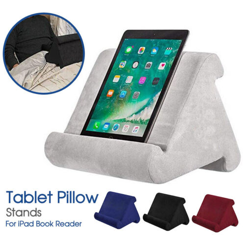 Tablet Pillow Stands For iPad Book Reader Holder Rest Laps Reading Cushion AU