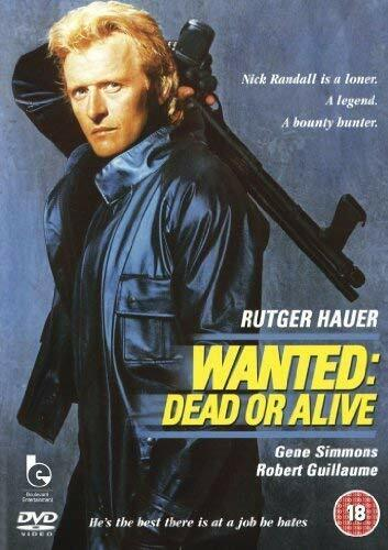 Wanted: Dead or Alive (DVD, 1986)