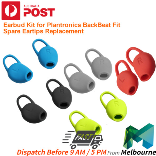 Earbud Kit for Plantronics BackBeat Fit - Spare Eartips Replacement