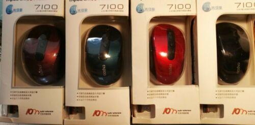 Rapoo 7100, 2.4GHz Wireless Optical Mouse, 10 Meter Distance.