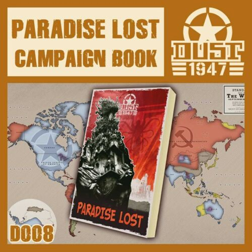 D008 OPERATION PARADISE LOST CAMPAIGN BOOK - DUST 1947