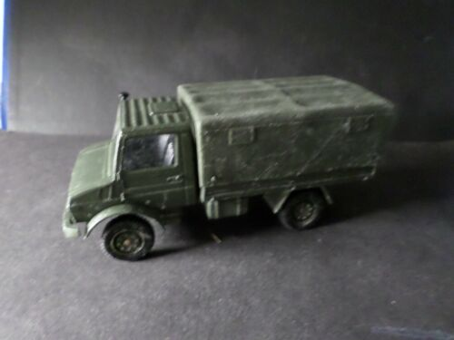 CAMION MILITAIRE MERCEDES UNIMOG 1:50, SOLIDO, d occasion, TB TOY car, VEHICULE
