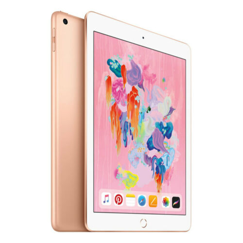 """[Open Box - As New] Apple iPad 2018 A1954 9.7"""" WiFi + Cellular 32GB - Gold"""