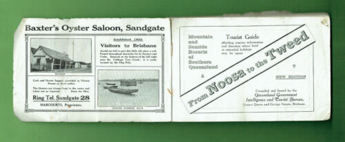 #D449.    C. 1920s  FROM NOOSA TO TWEED HEADS  TOURIST GUIDE BOOK