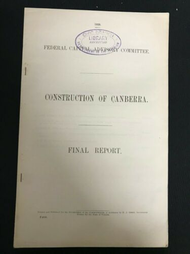 CONSTRUCTION OF CANBERRA FINAL REPORT M613