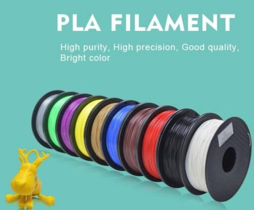 Geeetech 3D Printer Filament PLA 1KG/ Roll1.75mm 7 Colors 2/4 Rolls from AU
