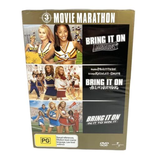 Brand New & Sealed Bring It On 3 Pack - Again / All or Nothing / In It To Win It