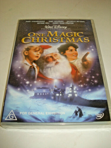 ONE MAGIC CHRISTMAS DVD BRAND NEW SEALED FREE POST