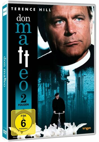 Don Matteo 2 Episodes Terence Hill as Modern Pater Brown DVD New
