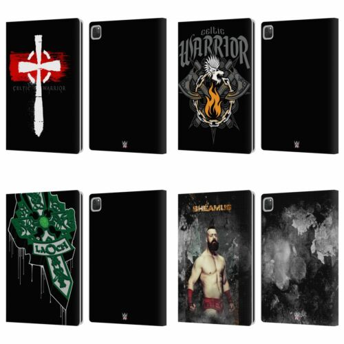 OFFICIAL WWE SHEAMUS LEATHER BOOK WALLET CASE FOR APPLE iPAD