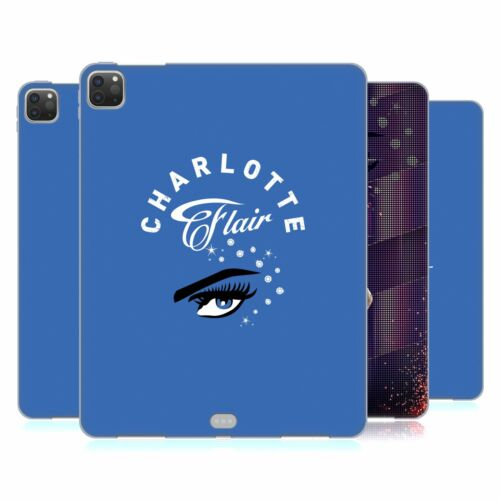 OFFICIAL WWE CHARLOTTE FLAIR GEL CASE FOR APPLE SAMSUNG TABLETS