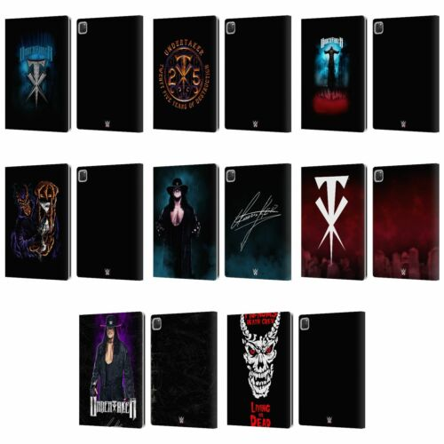 OFFICIAL WWE UNDERTAKER LEATHER BOOK WALLET CASE COVER FOR APPLE iPAD