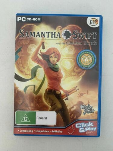 Samantha Swift and the Golden Touch - (PC CD-ROM) Hidden Object Game