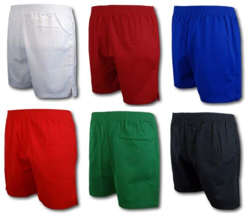 Traditional School Uniform PE Shorts - Poly Cotton Twill Fabric - Many Colours