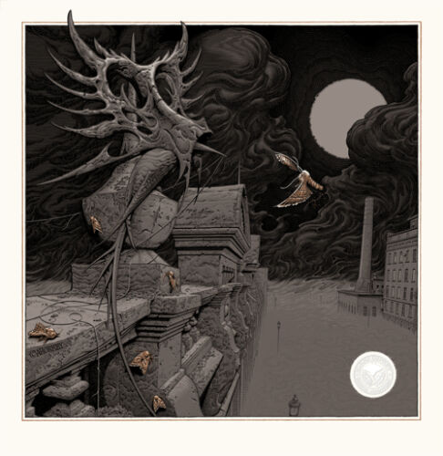 Aaron Horkey VARIANT Eater Of Dust Screen Print Signed Numbered /100 Poster RARE