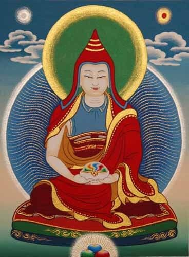 """high quality oil painting handpainted on canvas """"Buddhist figure"""""""