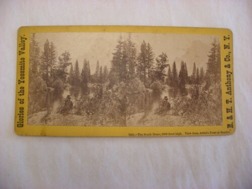 Stereo View Card - Yosemite Valley California E. & H. T. Anthony Co. 7365 #112