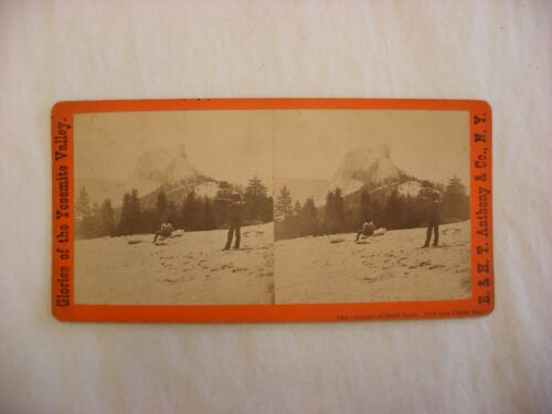 Stereo View Card - Yosemite Valley California E. & H. T. Anthony Co. 7431 #114