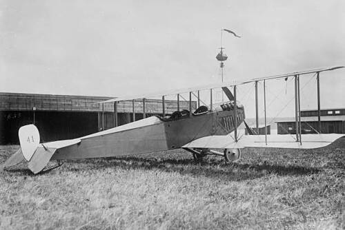 OLD PHOTO World War I Curtiss Airplane Jn Model In 19171914 - 1918 (WWI) - 13962