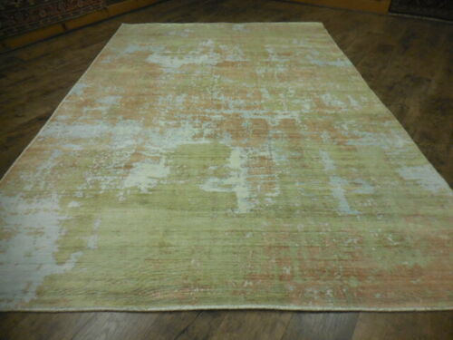 SuperFine  Abstract Transitional Modern Oushak savaran Decore Design Rug 6x9