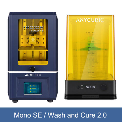 Anycubic LCD Photon Zero 3D Printer / Wash and Cure Machine 405nm UV Light Cure