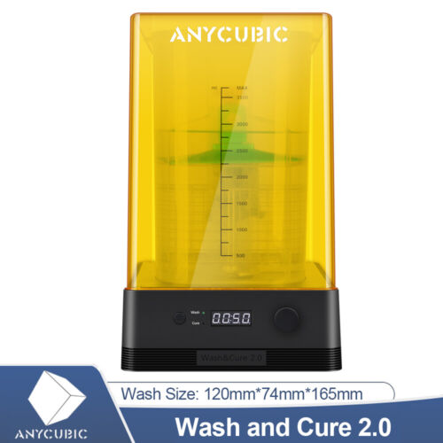 ANYCUBIC Wash and Cure Machine for LCD DLP SLA 3D Printer Photon 405nm UV-Light