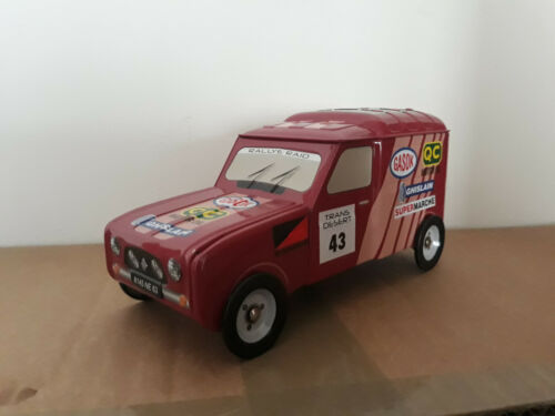 CAMION RENAULT 4 - R4 RALLYE - A GATEAUX BISCUITS