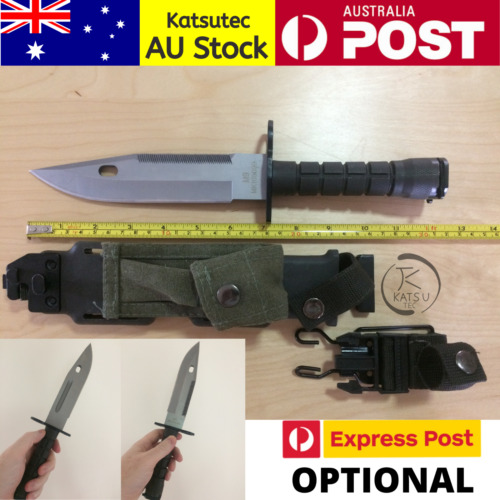 Chinese Army M95 M9MK183 Bayonet Tactical Knife with Sheath Quality Repro AUModern, Current - 36066