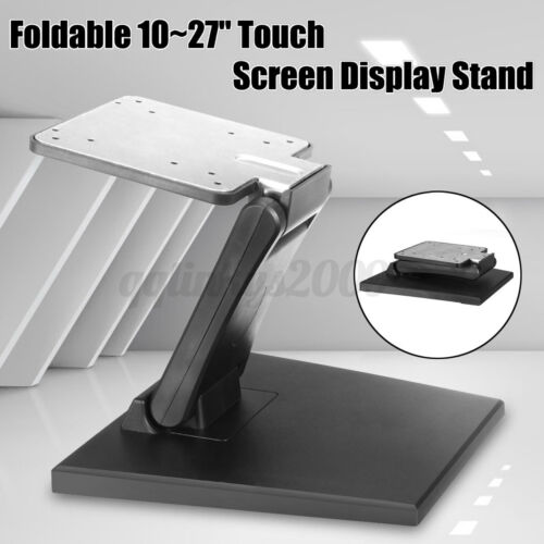 10''-27'' Touch Screen LCD Display Stand Tilt Mounted Fold Monitor Holder