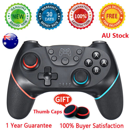 🔥 NS Bluetooth Wireless Pro Controller For Nintendo Switch Gamepad Charger PC