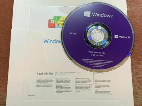 WlNDOWS 10  PRO 32 or 64 bit INSTALLATION DVD and PRODUCT KEY PROFESSIONAL