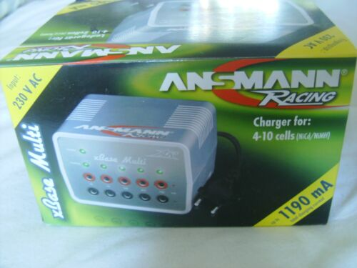 Ansmann Racing Charger with 5 connections up to 1.2A total charging new in box