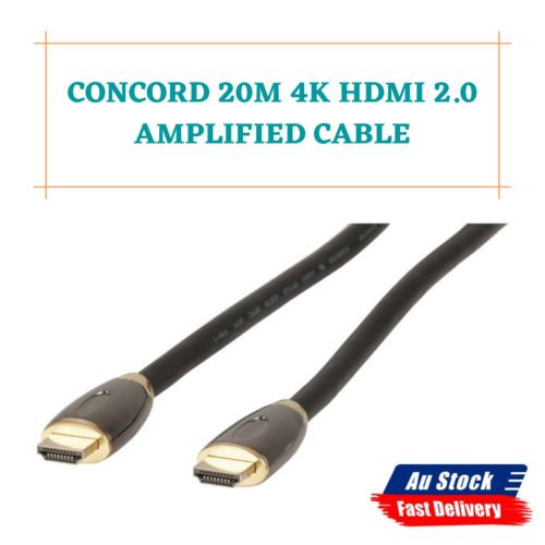1x 20m / 30m Amplified HDMI Cable with Ethernet